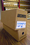 UNESCO Archivbox, Photo: Dr. Andrea Rehling